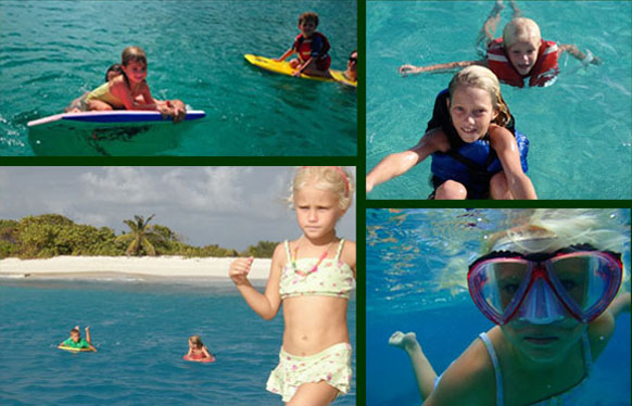 St John Vacation Childrens Water Activities on St John USVI